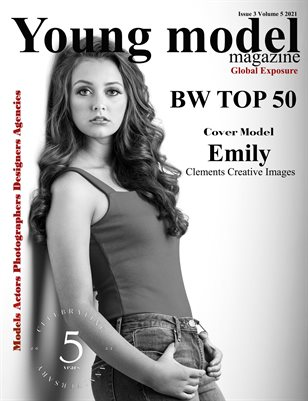 Young Model Magazine Issue 3 Volume 5 2021 BW TOP 50