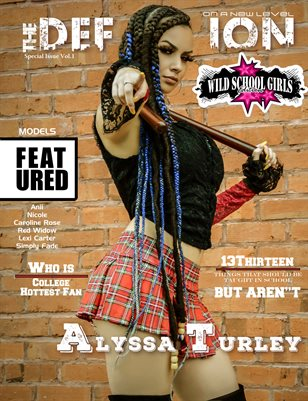 TDM: Alyssa Turley Wild School Girls Vol.1 Cover 2 2019