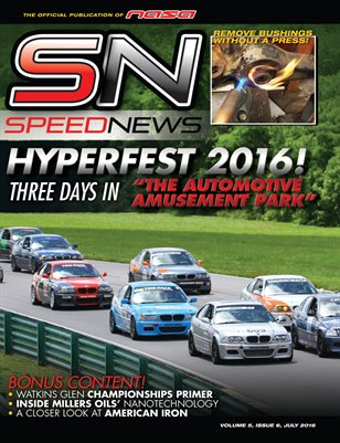 NASA Speed News July Issue 2016