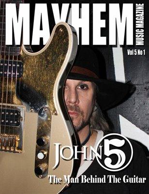 Mayhem Music Magazine Vol. 5 No. 1