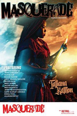 Masquerade No.7 – Tatiana Kattlon Cover Poster