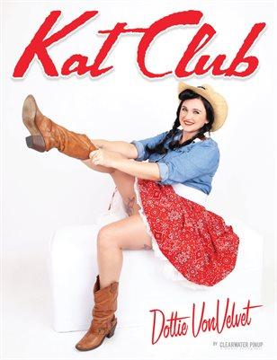 Kat Club No.18 – Dottie VonVelvet Cover