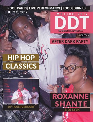 Roxanne Shante and DJ Sylk at Club Heaven ISSUE 2