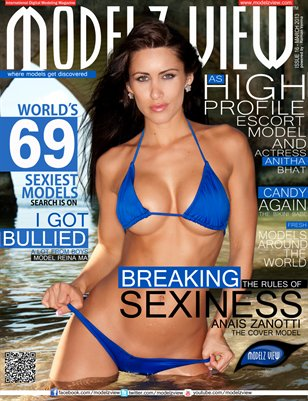 MODELZ VIEW MAGAZINE MARCH 2013