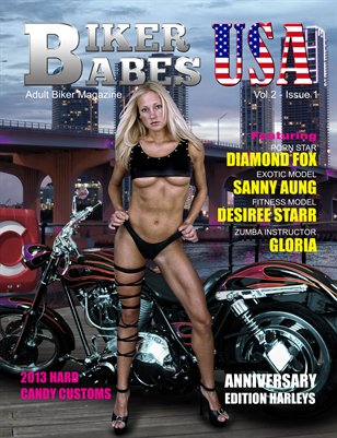 Biker Babes USA - Vol.2 Issue 1