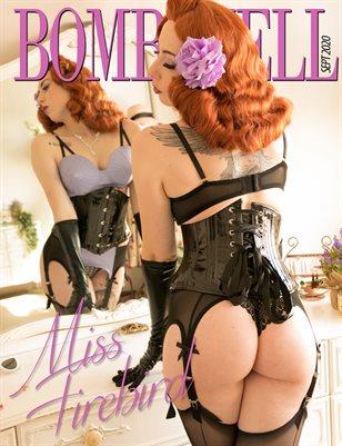 BOMBSHELL Magazine September 2020 - Miss Firebird Cover