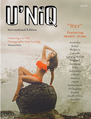 U'NiQ Magazine - Issue 20 - International Edition