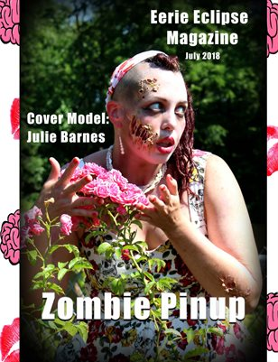 Eerie Eclipse Magazine Issue 6 Zombie Pin-up