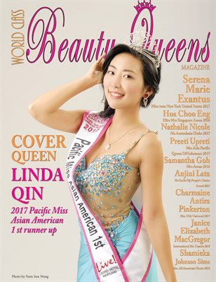 World Class Beauty Queens Magazine Issue 59 with Linda Qin