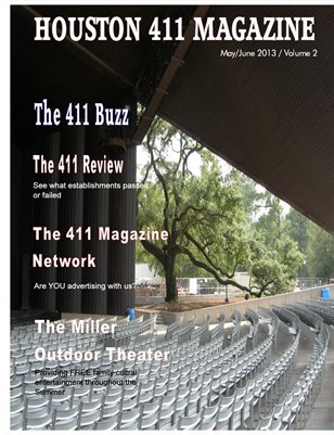 HOUSTON 411 MAGAZINE MAY/JUNE 2013