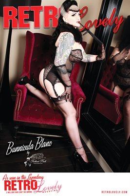 Bunnicula Blanc Poster