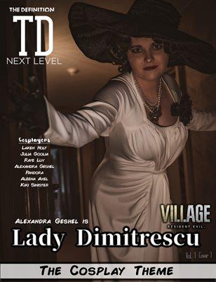 TDM Alexandra Geshel Cosplay Vol1 Cover1
