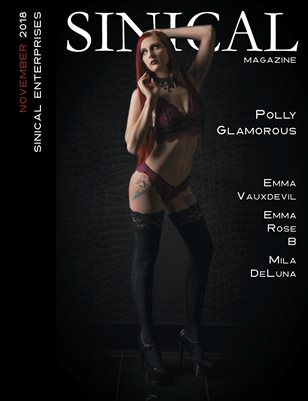 Sinical November 2018 issue - Polly Glamorous cover edition