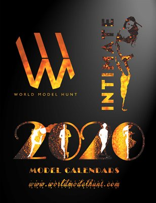 Intimate By World Model Hunt - Collectible Calendar 2020