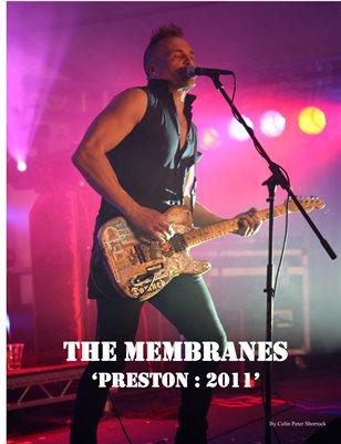 The Membranes ~ Preston : 2011