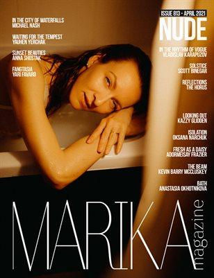 MARIKA MAGAZINE NUDE (ISSUE 813 - APRIL)