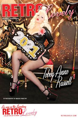 Tobey Anne Russell Cover Poster - Holidays 2020 Volume No.25