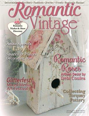 Romantic Vintage™ Magazine ~ January 2016