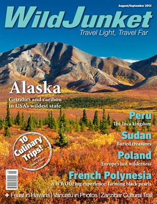 WildJunket Magazine August/September 2012