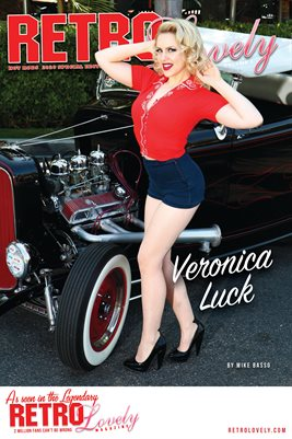 Veronica Luck Cover Poster
