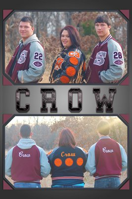 Crow Family Poster