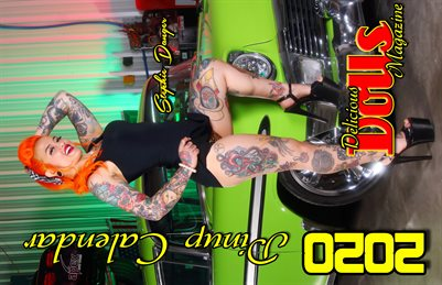 Delicious Dolls 2020 Calendar Stephie Danger