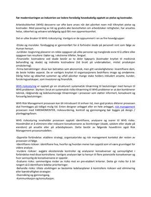 Dyman Associates Risk Management: The Basics of WHS Risk ManagementGrunnleggende WHS risikostyring