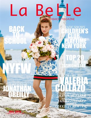La Belle Kidz Fashion Magazine - Fall 2016