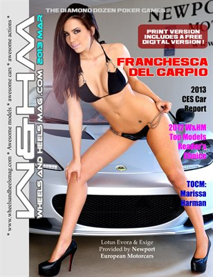 W&HM Wheels and Heels Mag 2013 MAR