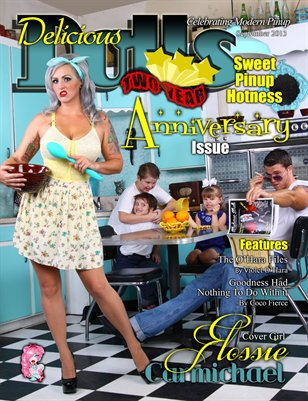Delicious Dolls September 2013 Two Year Anniversary issue - Flossie Carmichael cover