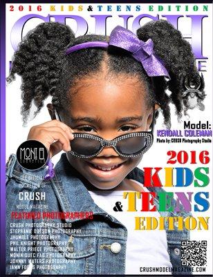 CRUSH MODEL MAGAZINE 2016 KIDS & TEENS EDITION