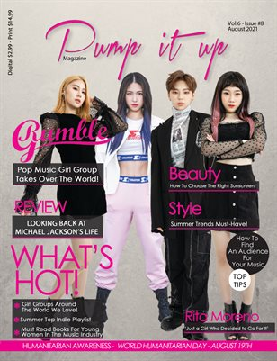Pump it up magazine -August 2021 – RUMBLE G ! VOL.6 – ISSUE #8