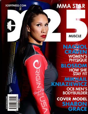 X25 Fitness Issue 5 Sharon Grace