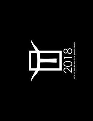 Toro Productions 2018 Nude Calendar
