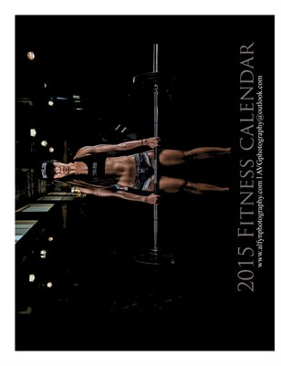 2015 FITNESS calendar by Alfyn Photography