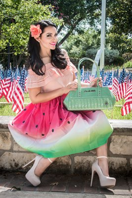 America and Watermelon