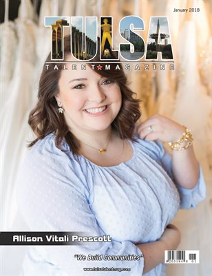 Tulsa Talent Magazine January 2018 Edition