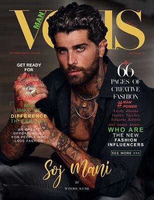 VOUS Magazine | The Man Edition | Vol.1 | September 2021