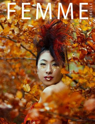 Femme Rebelle Magazine December 2018 BOOK 2 - Eithne Ni Anluain Cover