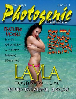 Photogenic Magazine with Layla, Cover 3