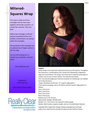 Mitered-Squares Wrap