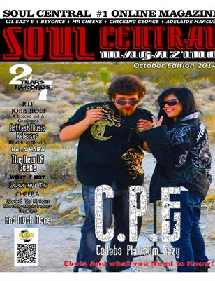 Soul Central Magazine October Edition 2014