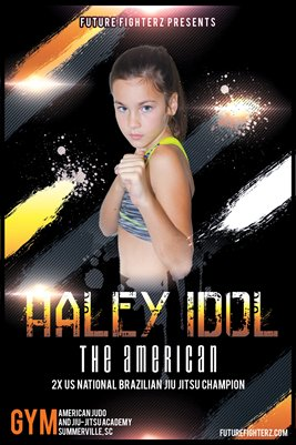 Haley Idol Yellow - Poster