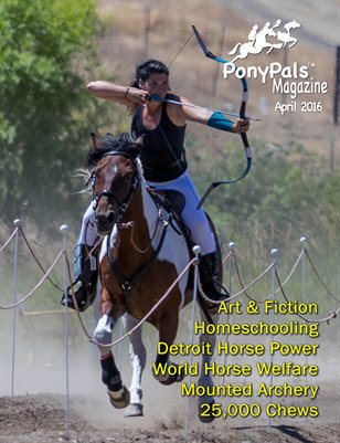 April 2016 Pony Pals Magazine -- Vol. 5 #11