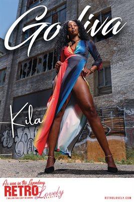GODIVA No.20 – Kila Cover Poster