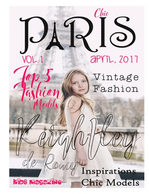 Paris Chic kids Magazine Vol.1