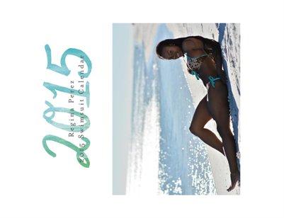 2015-2016 Swimsuit Calendar Regina Perez