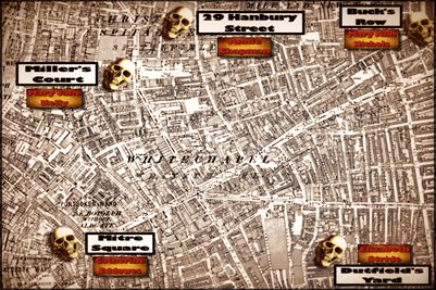 Jack the Ripper Murder Map