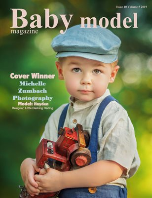 Baby Model magazine October Edition Issue 10 Volume 5 2019