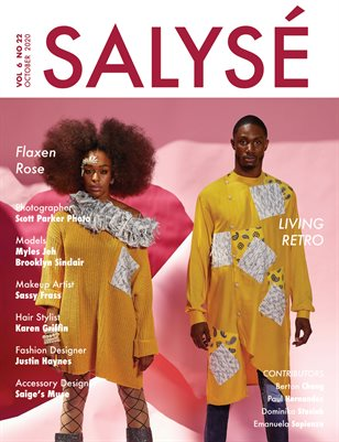 SALYSÉ Magazine | Vol 6 No 22 | OCTOBER 2020 |